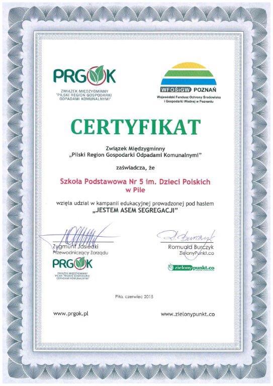 dyplo PRGOK