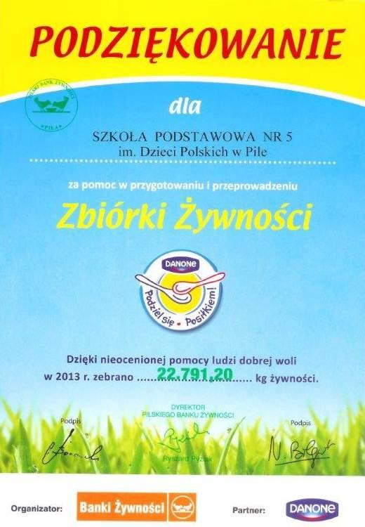 podziekowanie_bank_zywnosci