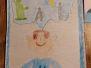"""Klasowy konkurs""""Portret wyobraźni """" w klasie III c"""