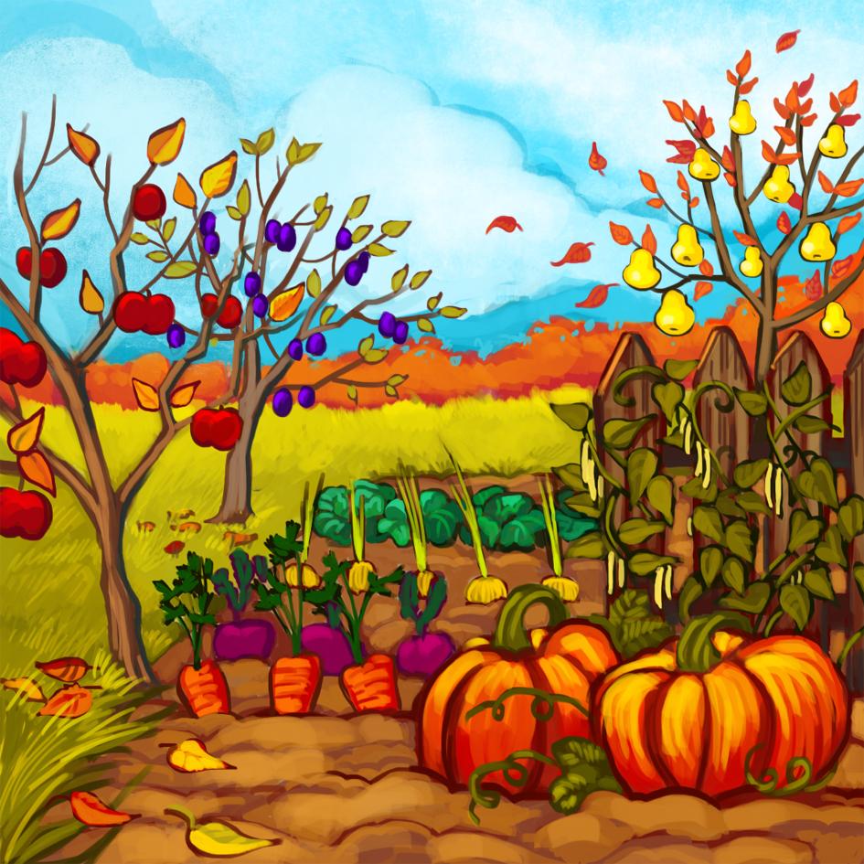 Jesień w ogrodzie – Szkoła Podstawowa nr 5 w Pile